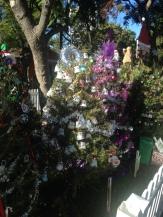 alberi di Natale addobbati dalle scuole